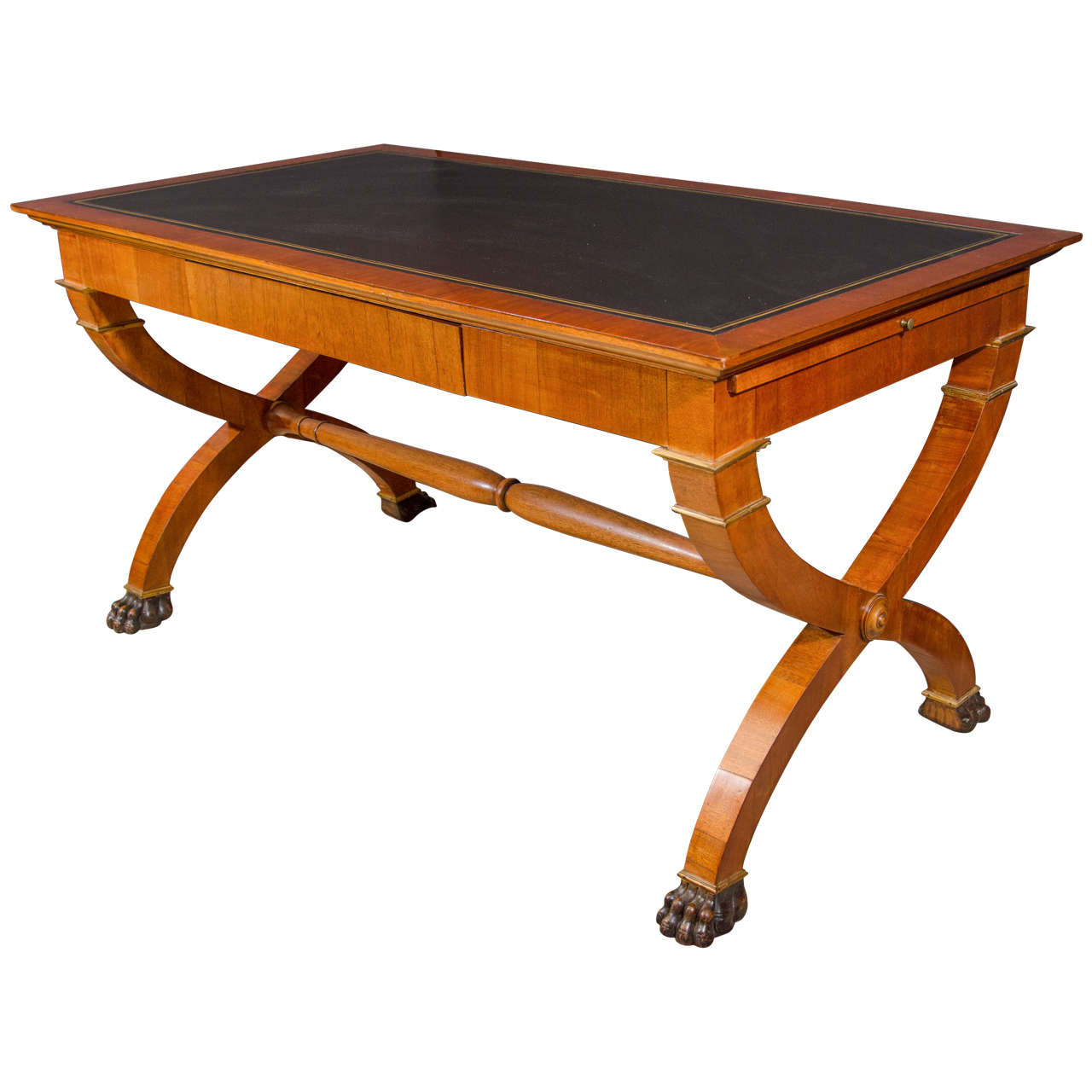 Unusual french empire writing table at 1stdibs for Unusual writing desks