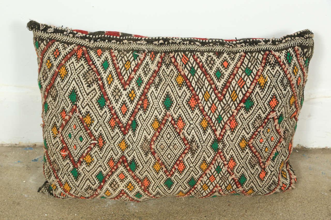 Bohemian Moroccan Tribal Rug Throw Pillows