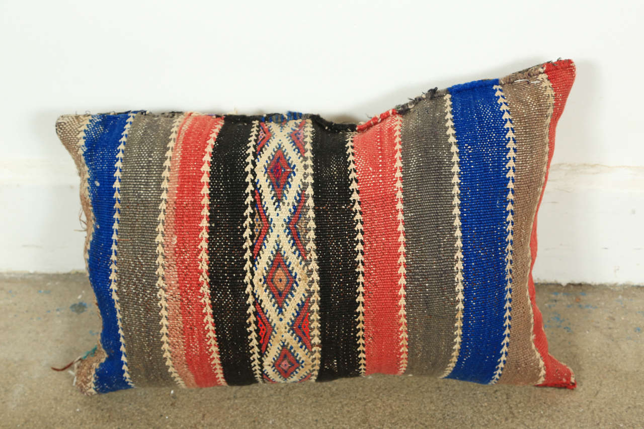 Moroccan Tribal Rug Throw Pillows In Good Condition In North Hollywood, CA