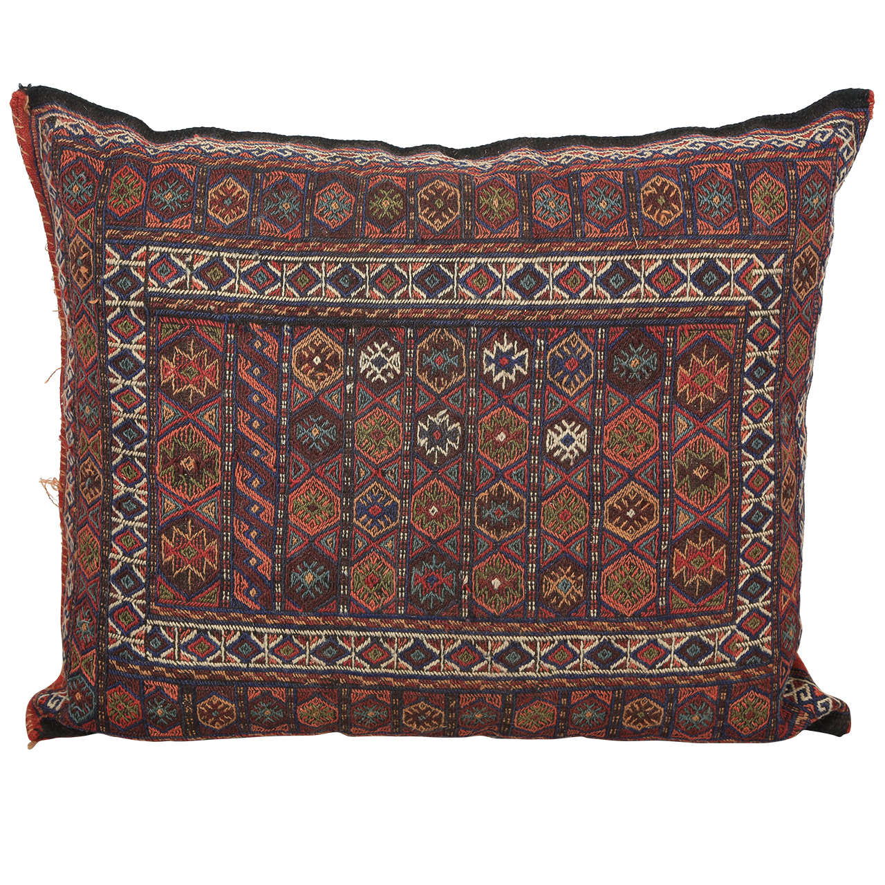 Giant Moroccan Floor Pillows : Moroccan Tribal Kilim Floor Pillow at 1stdibs