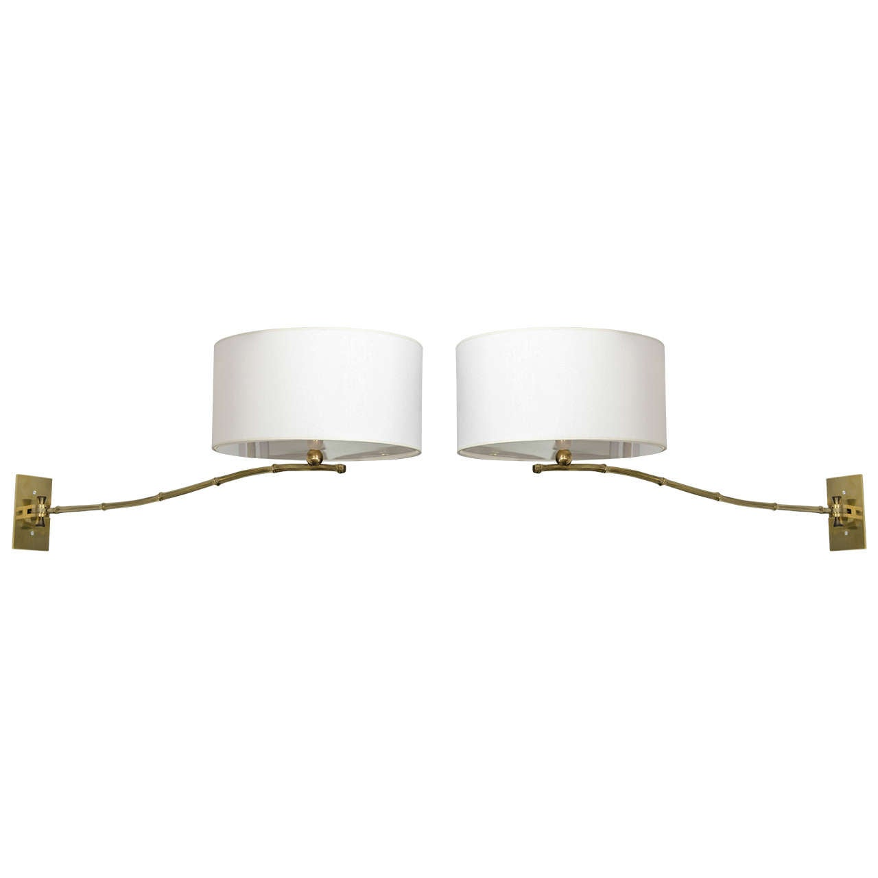 Bagues Swing Arm Sconces For Sale