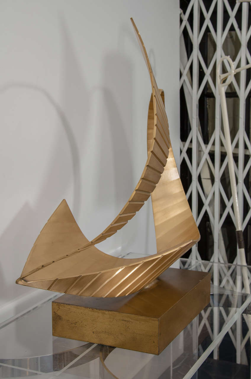 Brass Nautical Sculpture For Sale 1