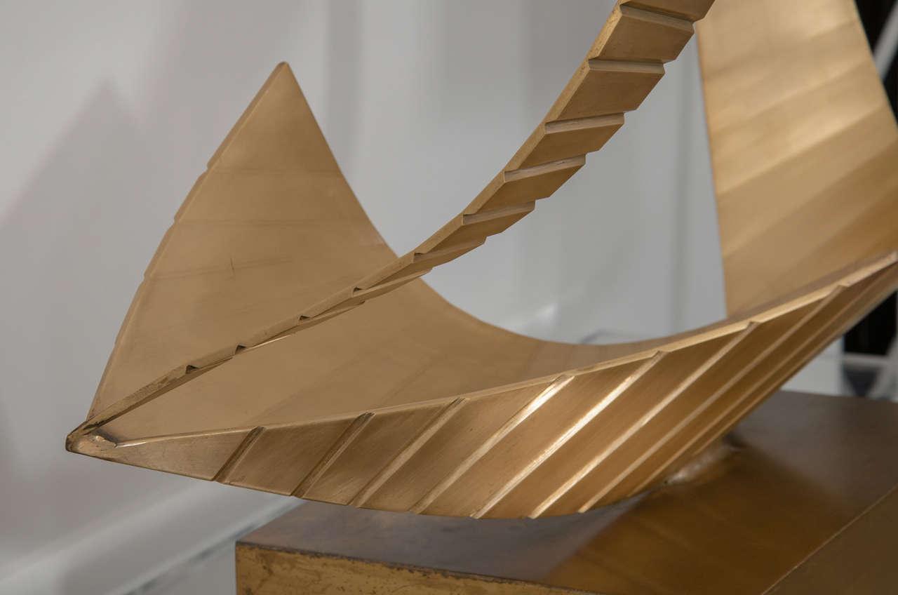 Brass Nautical Sculpture For Sale 2