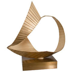 Brass Nautical Sculpture