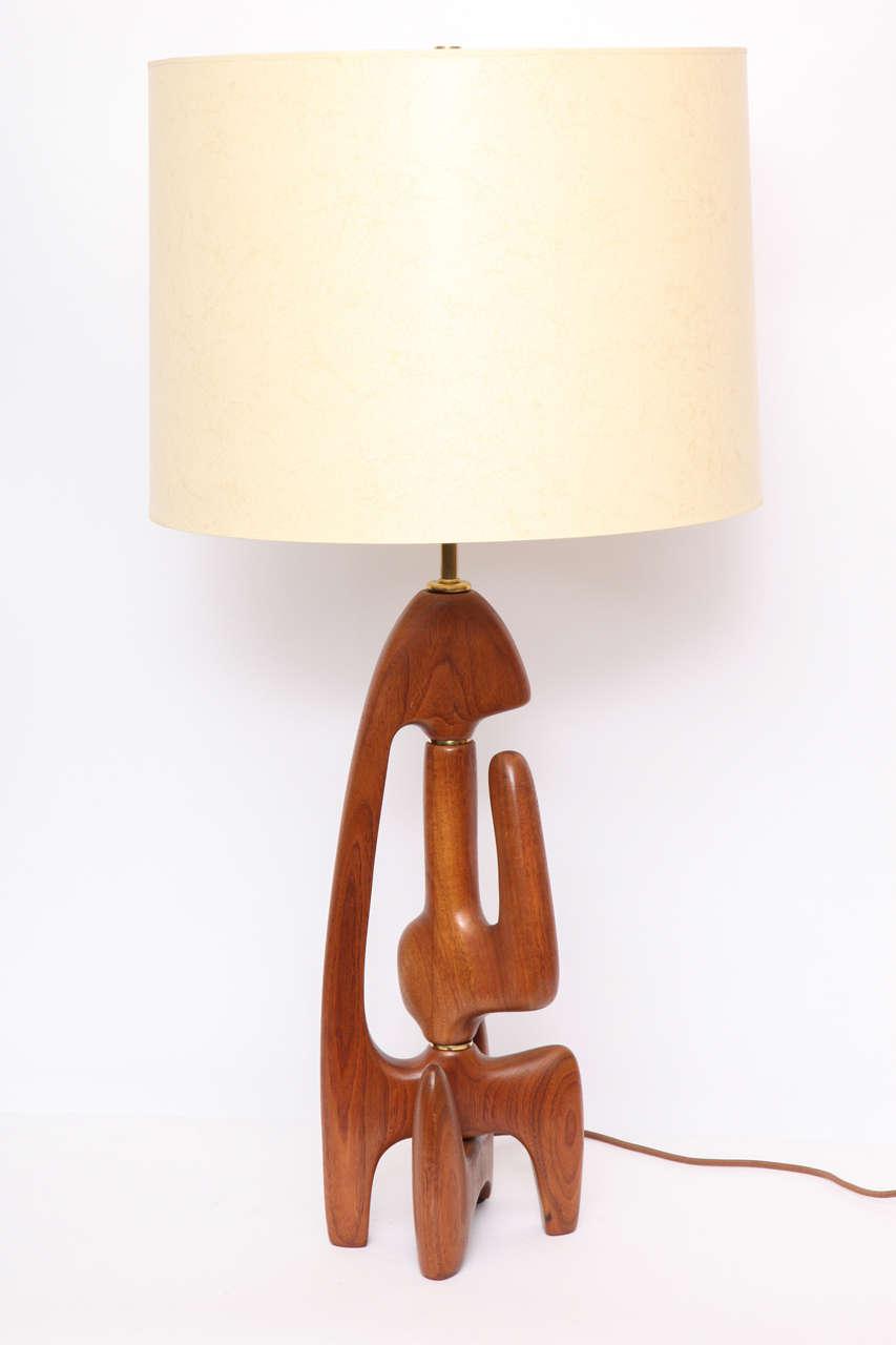 1950s Bio Morphic Sculptural Table Lamp at 1stdibs