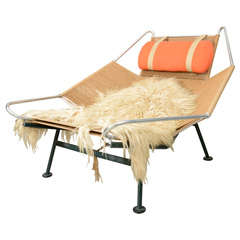 "Hans Wegner  ""Flag Line"" Halyard Lounge Chair"