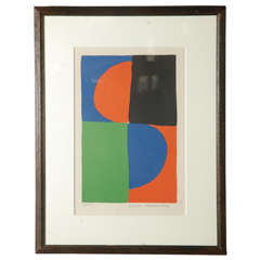 Signed and Numbered Lithograph by Sonia Delaunay