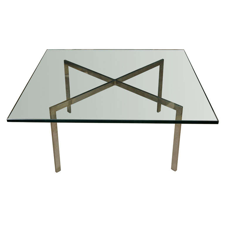 Knoll barcelona coffee table at 1stdibs - Knoll barcelona table ...