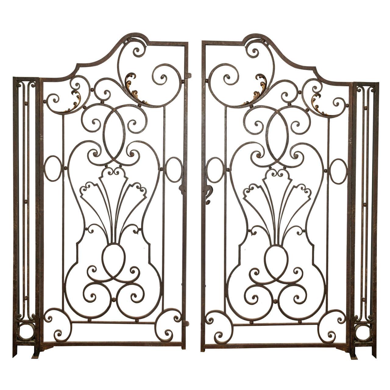 Wrought iron garden gate - Wrought Iron Garden Gate
