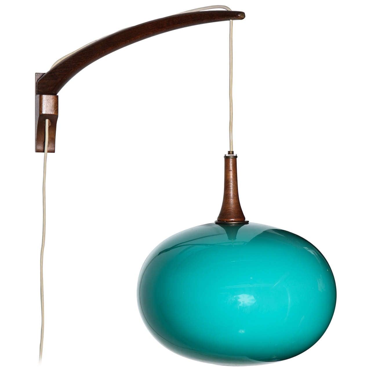 Adjustable Wall Lights Contemporary : Mid Century Modern Adjustable Wall Lamp at 1stdibs