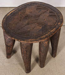 African Elephant Stool At 1stdibs
