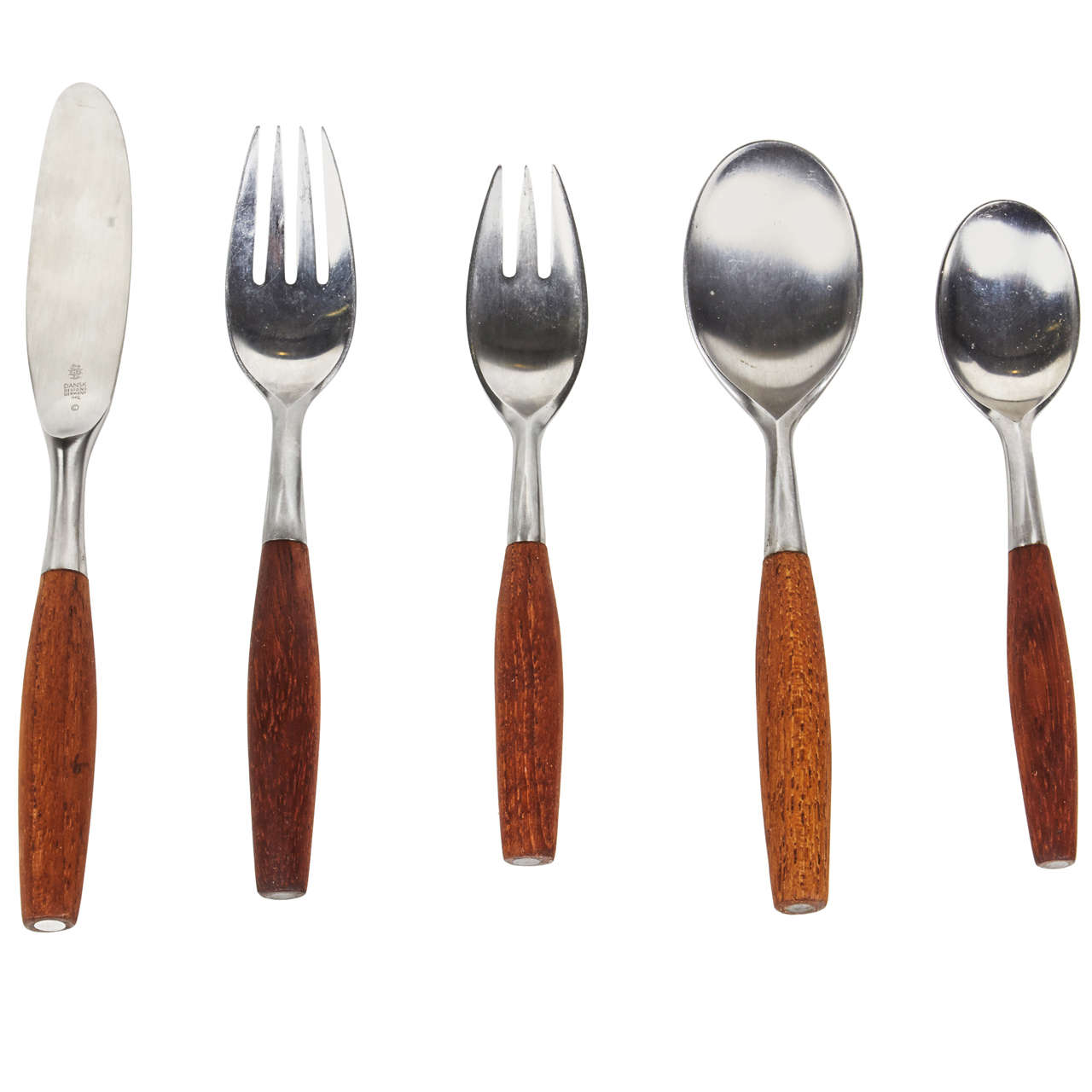 Fjord Five Piece Flatware Set by Jens Quistgaard