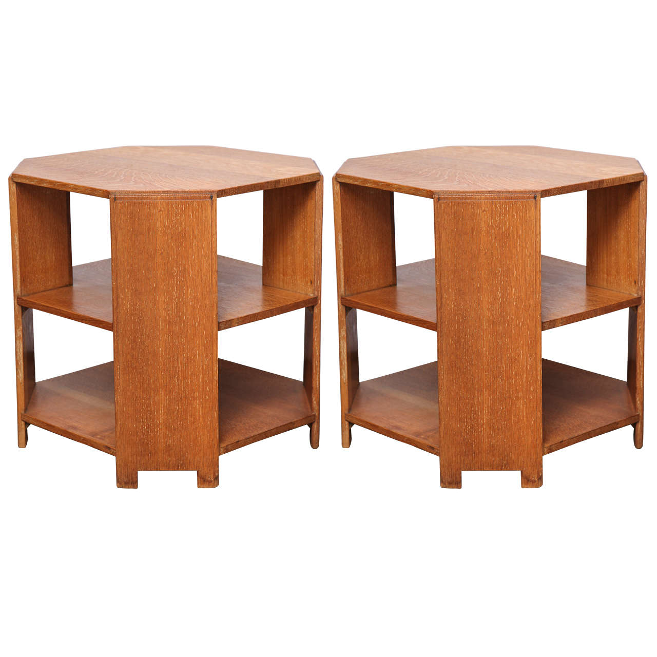 Pair Of Heal's And Son Oak Book Tables At 1stdibs. Full resolution  photo, nominally Width 1280 Height 1280 pixels, photo with #A95122.