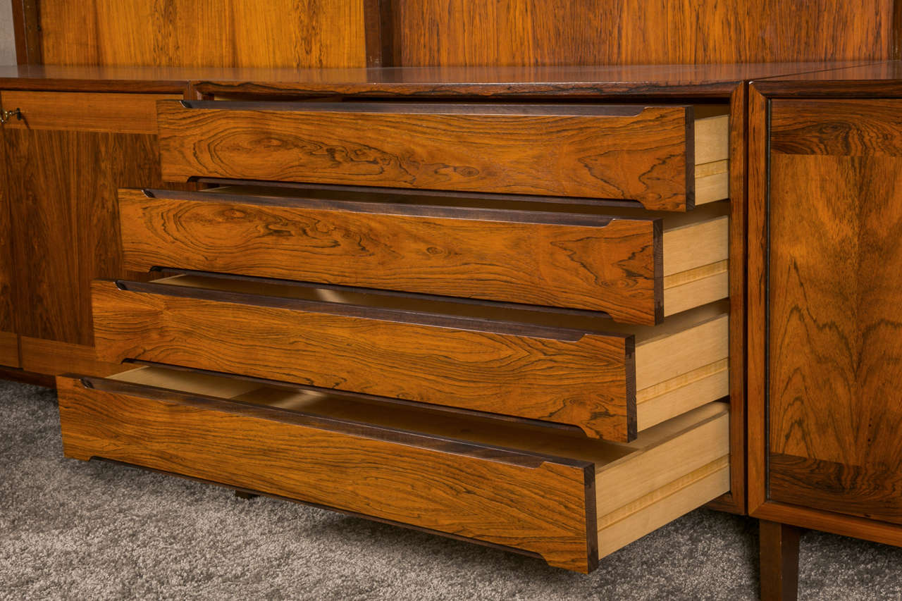 1960 s Danish Design Modular Rosewood Furniture at 1stdibs
