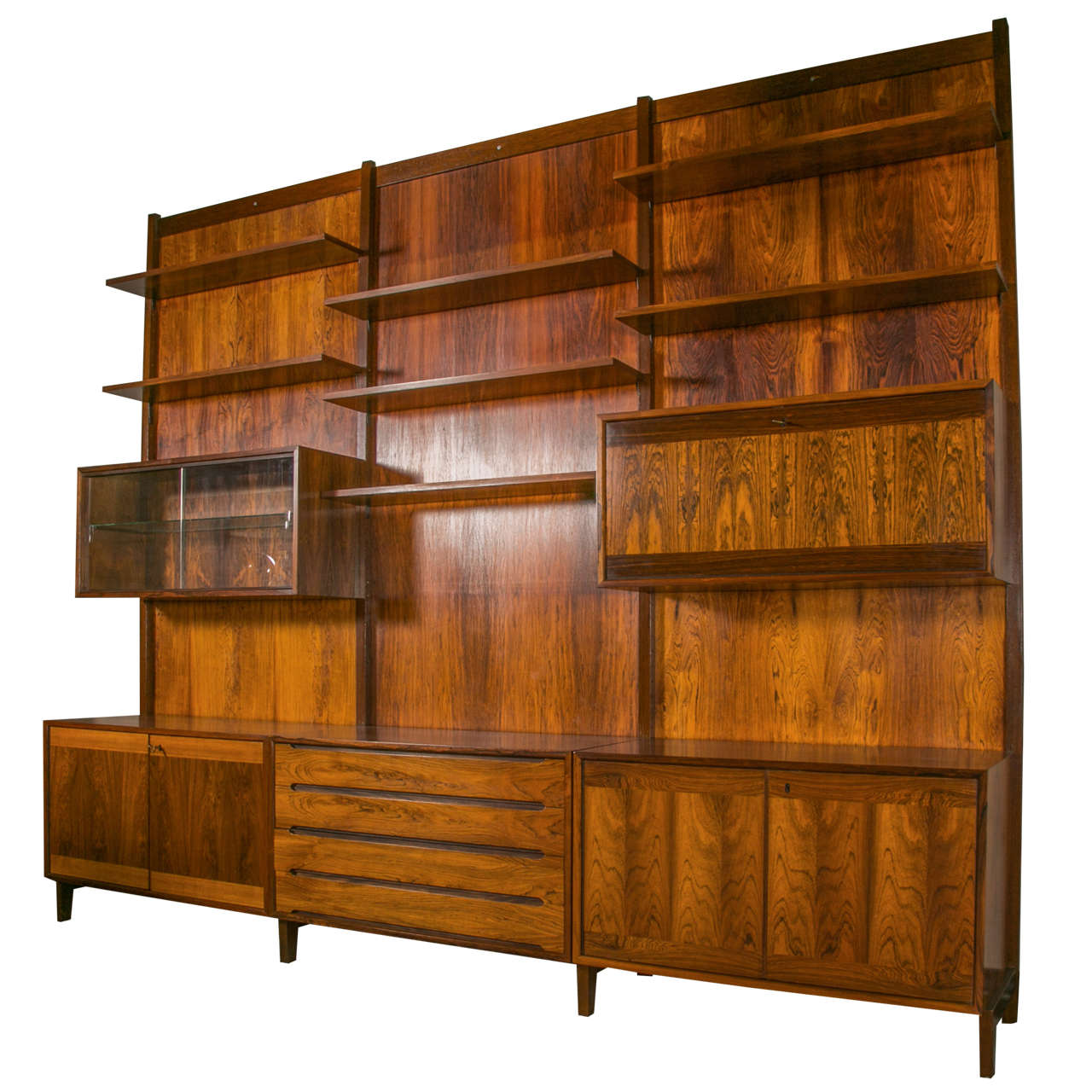 1960 39 s danish design modular rosewood furniture at 1stdibs for Danish furniture