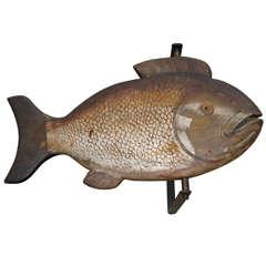 Fish Trade Sign