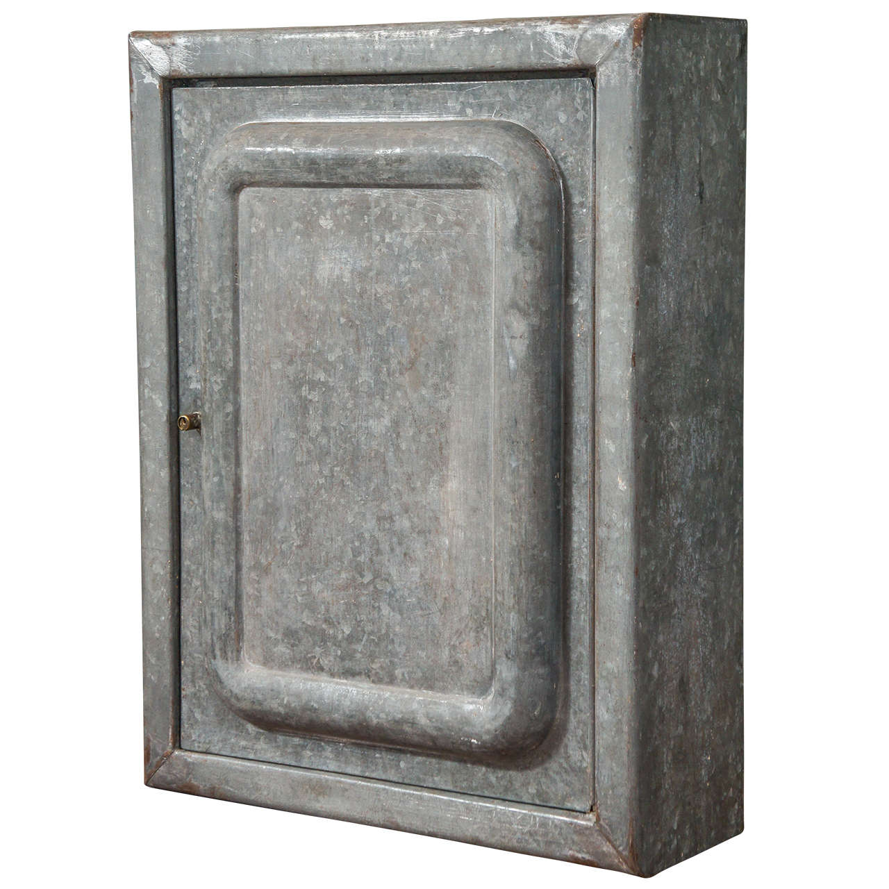 Galvanized Tin Cabinet At 1stdibs