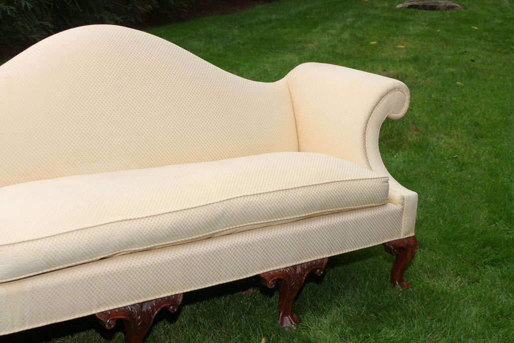 19th century upholstered settee for sale at 1stdibs for Settees for sale