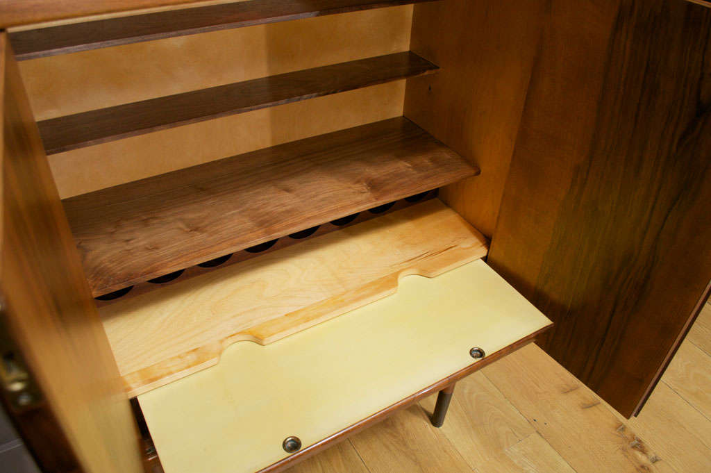 Birch Edvard and Tove Kindt-Larsen Walnut Bar Cabinet