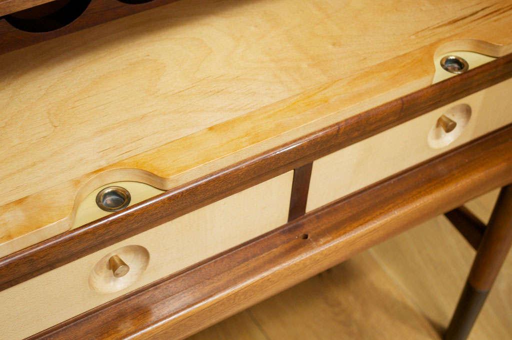 Edvard and Tove Kindt-Larsen Walnut Bar Cabinet 1