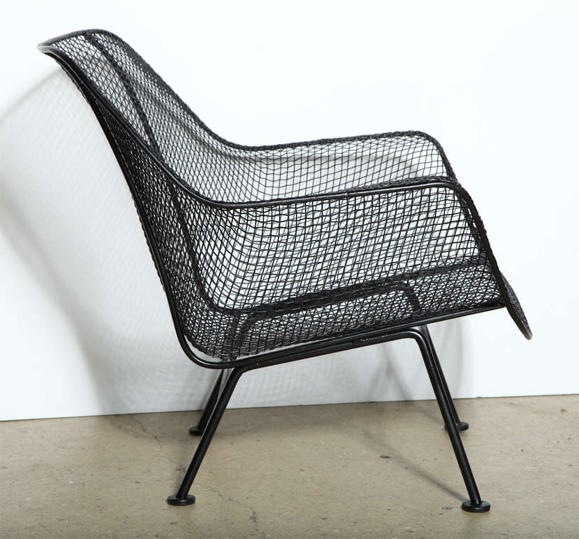Set Of 4 Russell Woodard Sculptura Lounge Chairs At 1stdibs