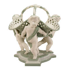 19th C. Minton Figural Porcelain Centerpiece