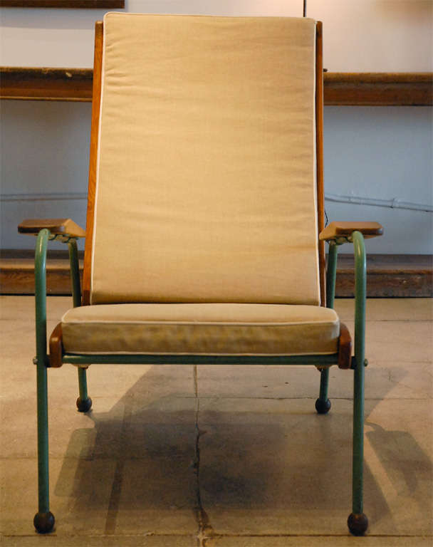 Jean Prouve Visiteur Lounge Chair France 1942 At 1stdibs