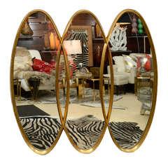 Gold Leaf Mirror, circa 1950