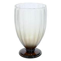 Art Deco Glass Coupe by Charles Schneider (1881-1953)