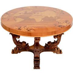Art Deco Cocktail Table