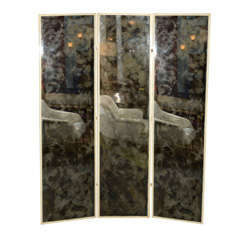 3-Panel Screen with Smoked Mirror