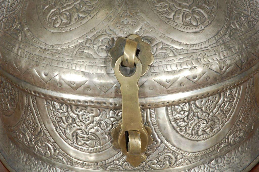 Turkish Brass Box with Lid 3
