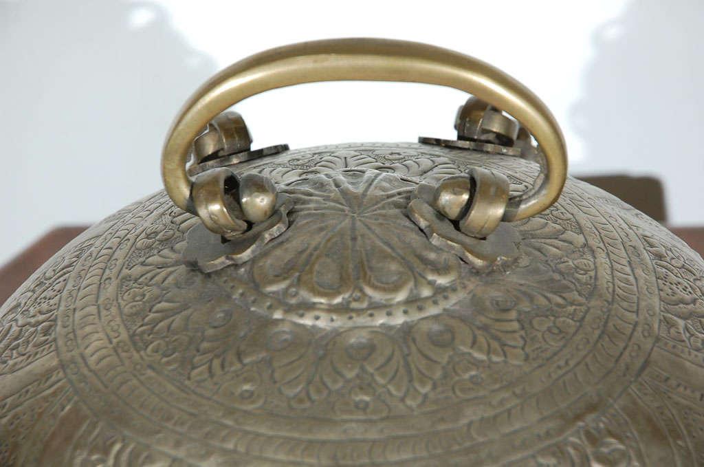 Turkish Brass Box with Lid 4