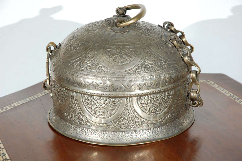 Turkish Brass Box with Lid 6