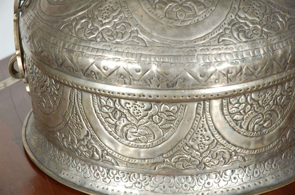 Turkish Brass Box with Lid 7
