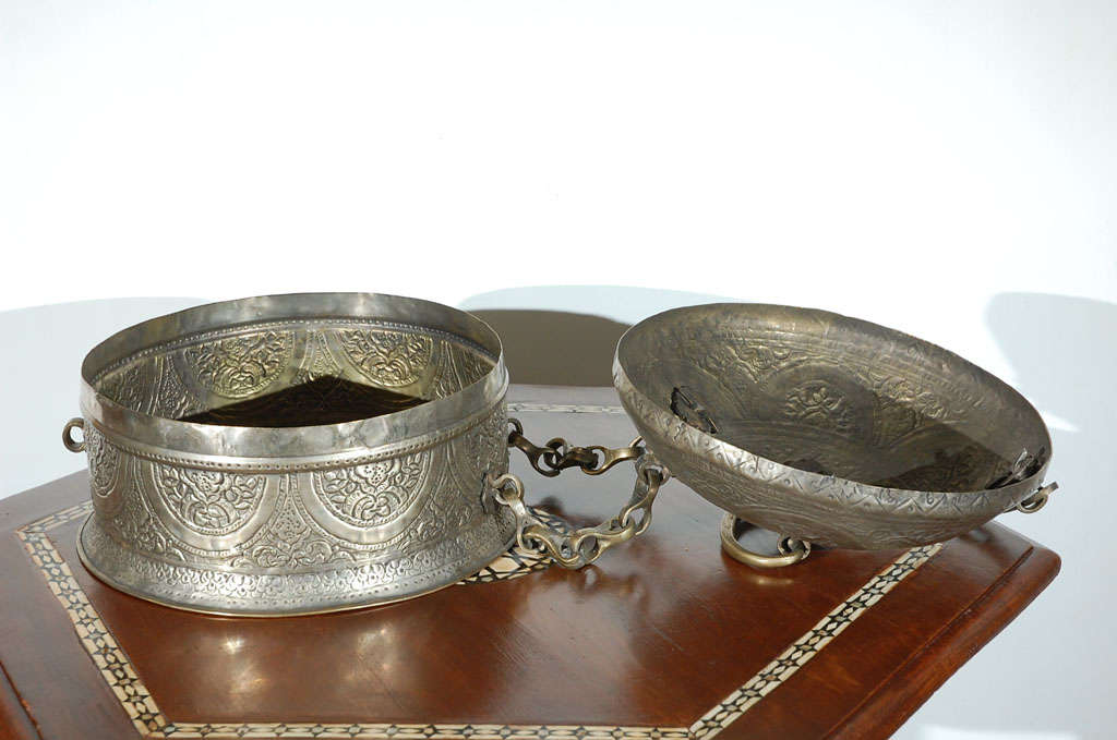 Turkish Brass Box with Lid 10