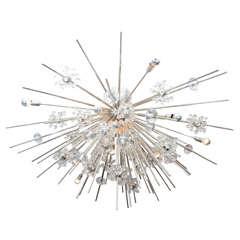 Custom Handmade Crystal Sputnik