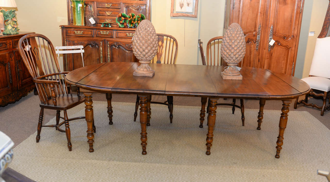 19th Century Restoration Period Dining Table At 1stdibs