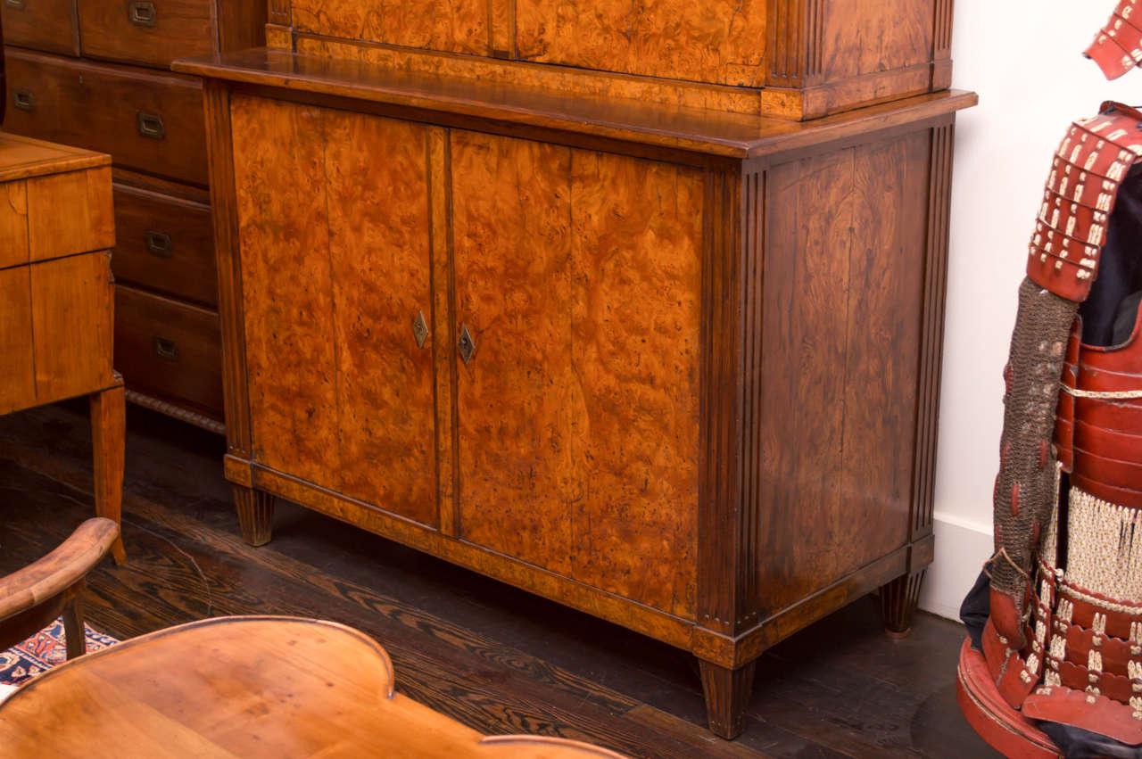 19th Century German Biedermeier Cabinet In Good Condition For Sale In San Francisco, CA