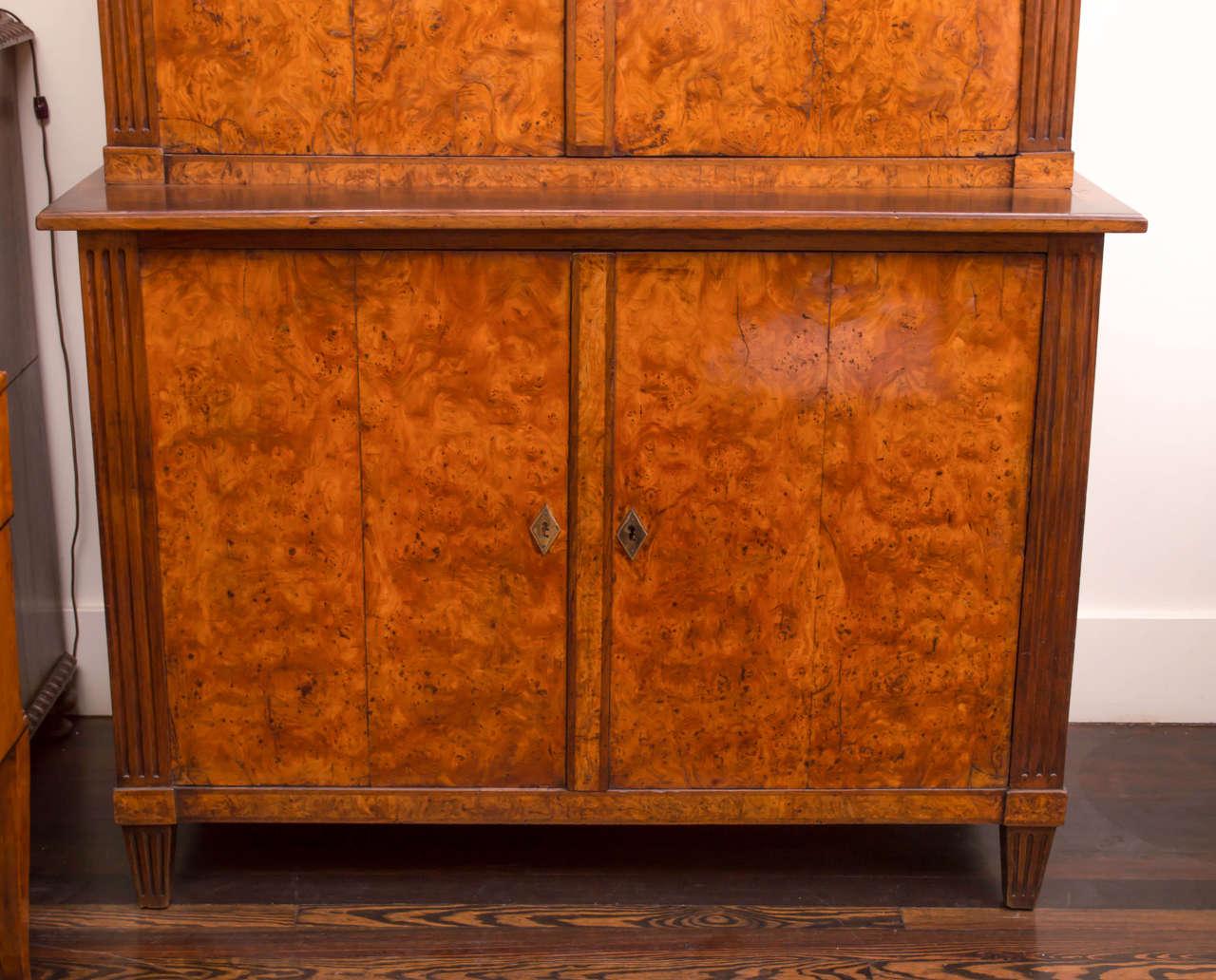 19th Century German Biedermeier Cabinet For Sale 2