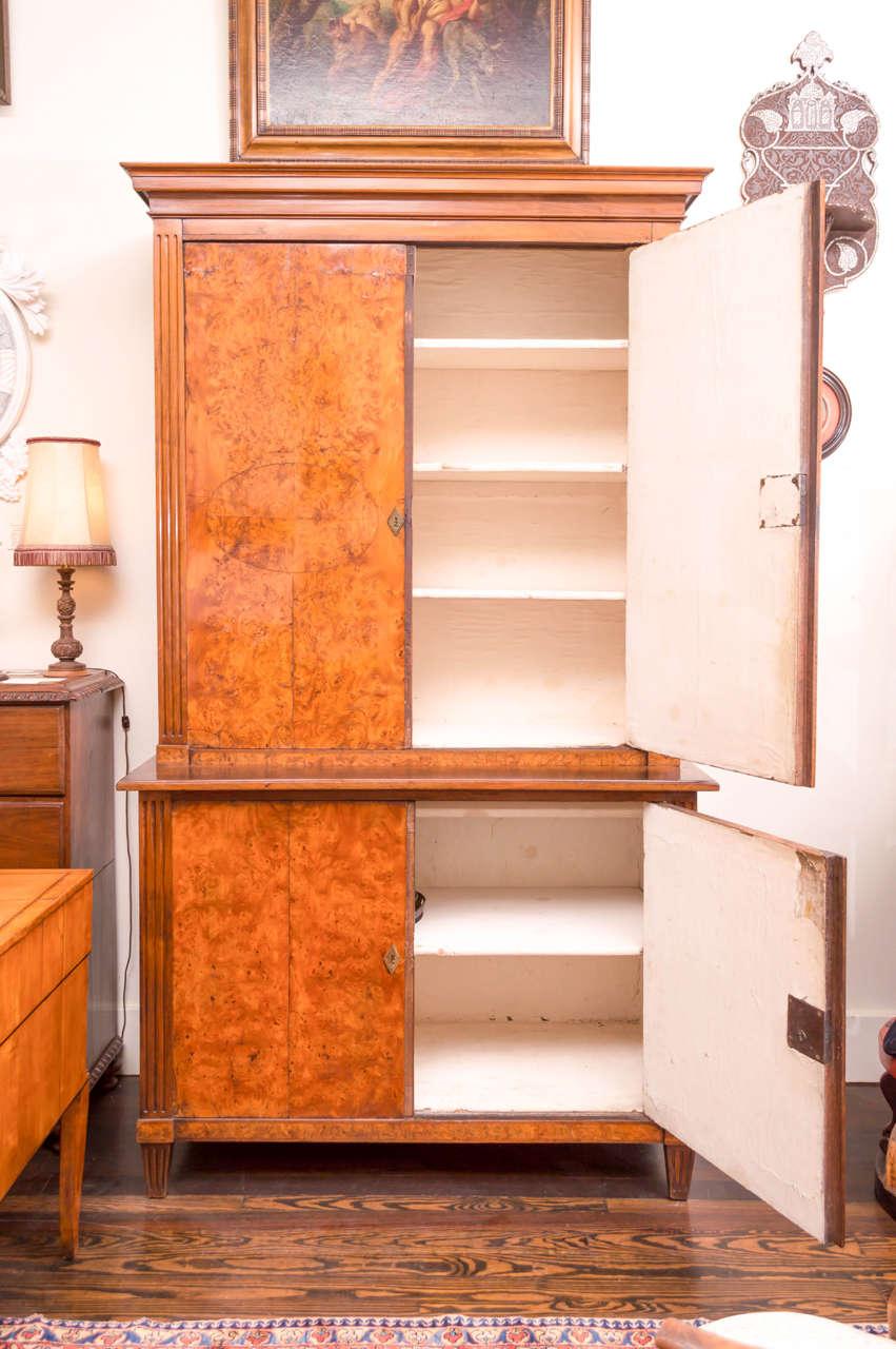 19th Century German Biedermeier Cabinet For Sale 4