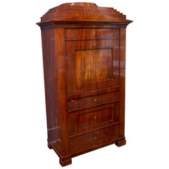 19th Century German Biedermeier Cabinet