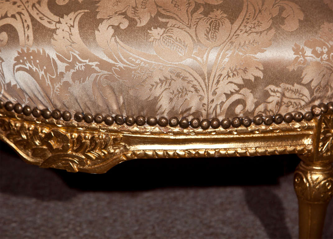 French Louis XVI Style Corner Chair 6