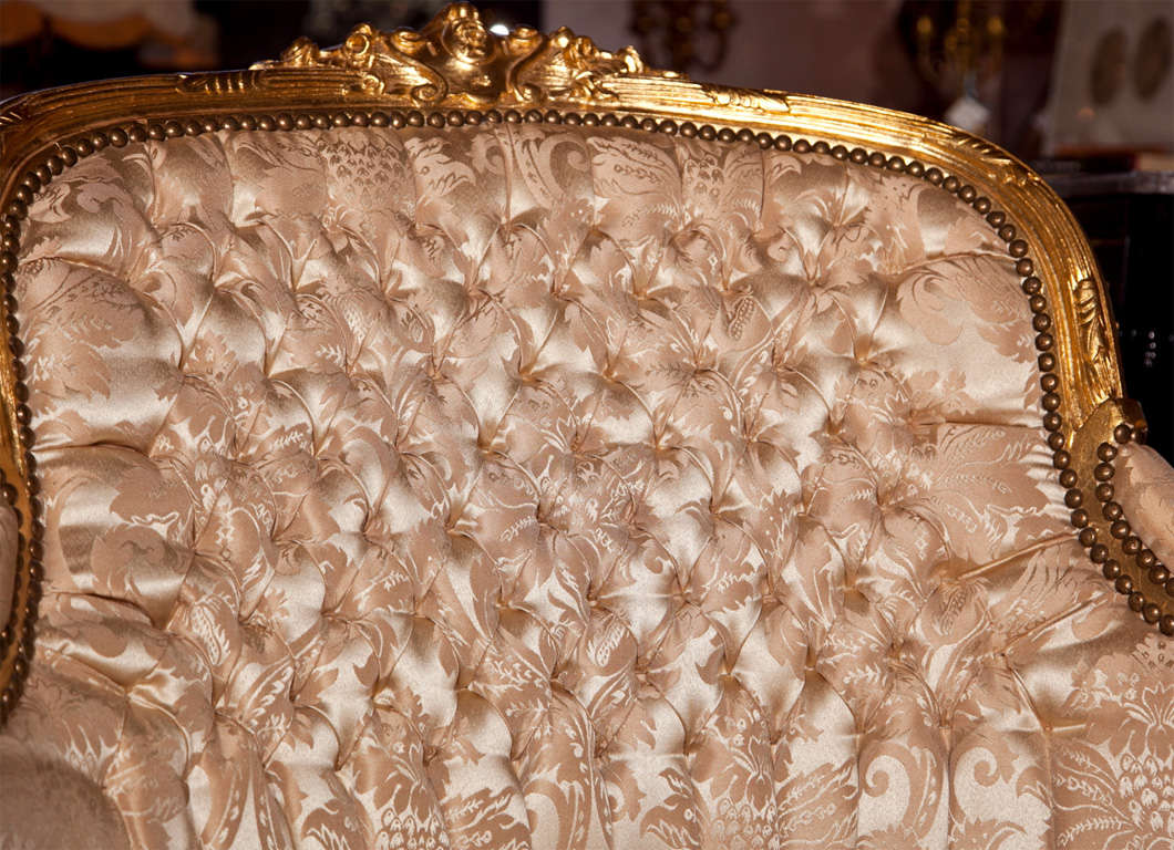 French Louis XVI Style Corner Chair 7