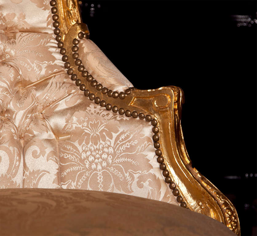 French Louis XVI Style Corner Chair 8