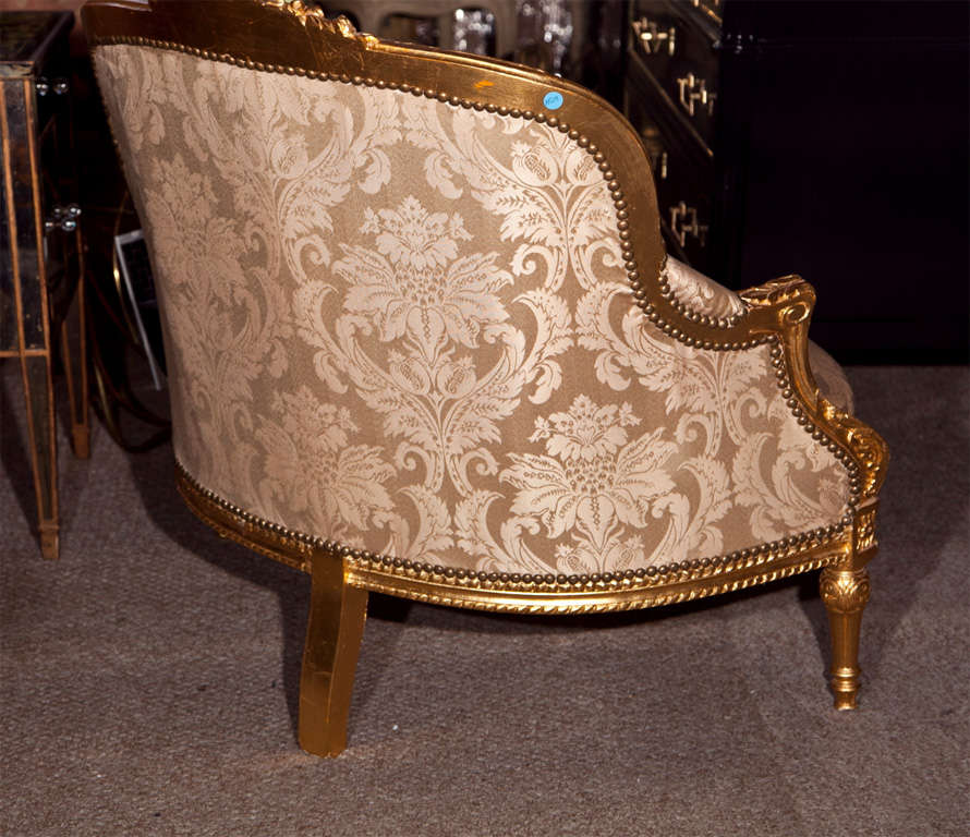 French Louis XVI Style Corner Chair 9