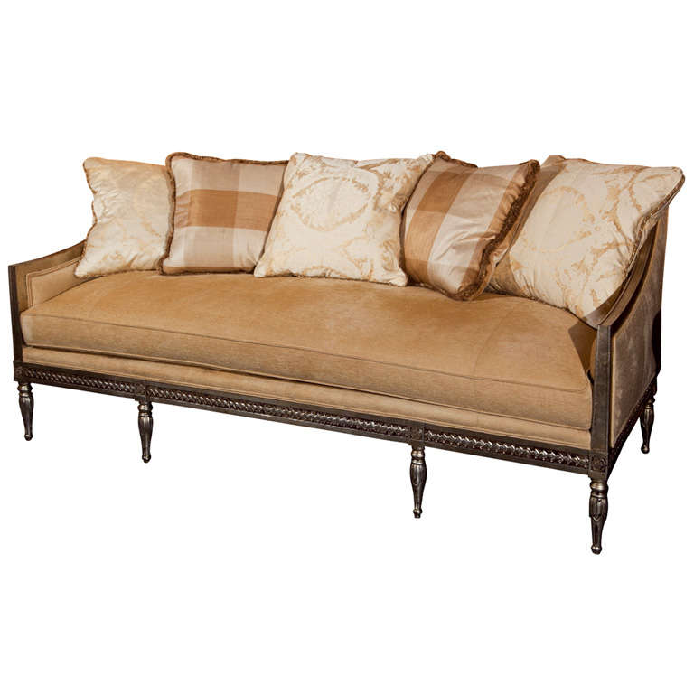 French Directoire Style Sofa At 1stdibs