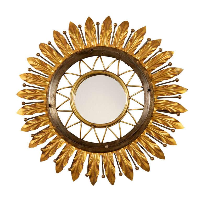 Gilbert poillerat elegant miroir sorciere at 1stdibs for Miroir sorciere