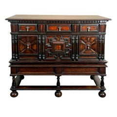 German Chest on Stand