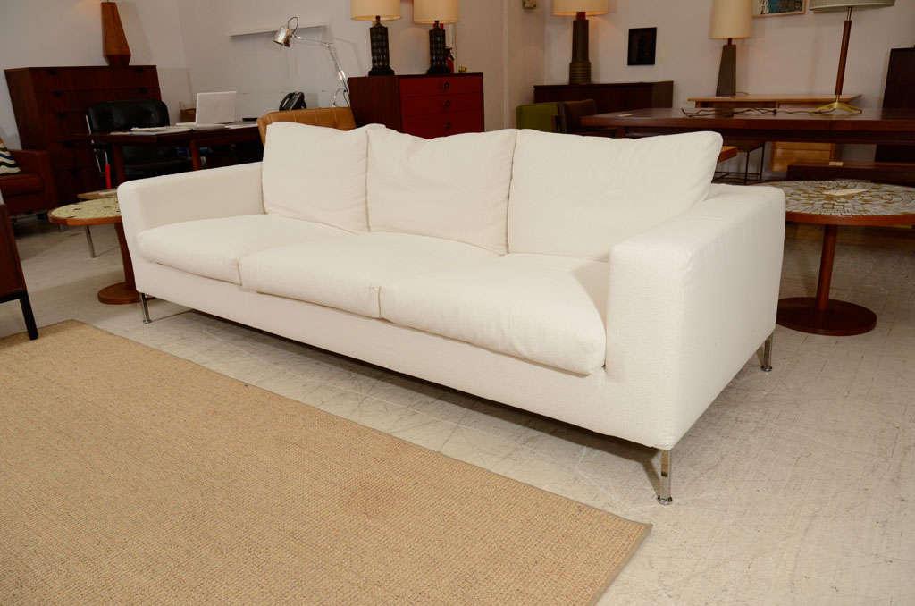 3 seat slip covered sofa from Troy, NY 10